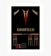 goodfellas - movie gangster Art Print