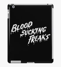 BLOOD SUCKING FREAKS - RETRO HORROR MOVIE iPad Case/Skin