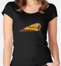 Indian Motorcycle Logo Women's Fitted Scoop T-Shirt