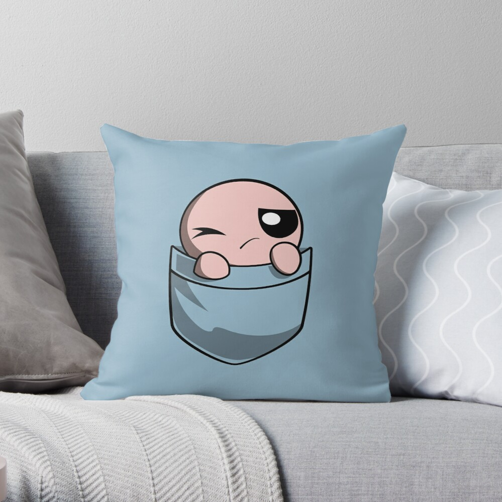 """The Binding Of Isaac, Pocket Isaac"" Throw Pillow By Spilu"