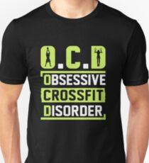 Camiseta unisex OCD - Desorden obsesivo de Crossfit
