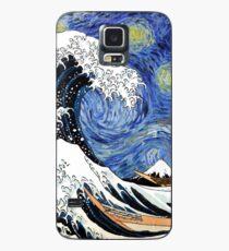 Iconic Sternennachtwelle von Kanagawa Hülle & Skin für Samsung Galaxy