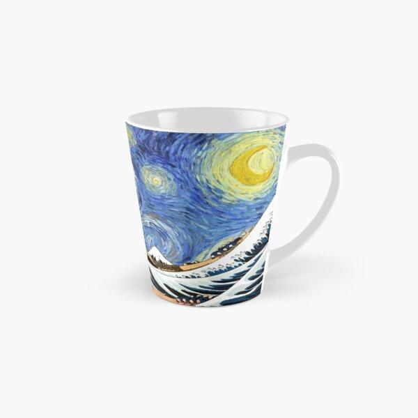 Iconic Starry Night Wave of Kanagawa Tall Mug