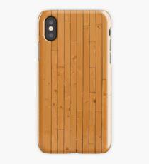 Novelty Light Hard Wood iPhone Case/Skin