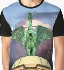 The Liver Bird Graphic T-Shirt