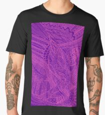 Bright abstract, decorative  background Men's Premium T-Shirt