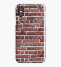 Novelty Brick Wall Construction  iPhone Case/Skin