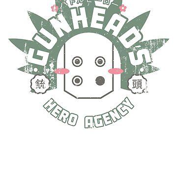Gunhead's Hero Agency by boxillustration