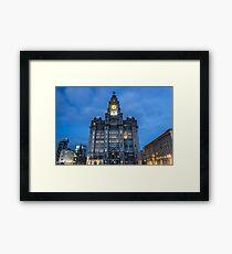 The Royal Liver Building Framed Print