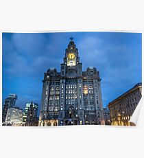 The Royal Liver Building Poster