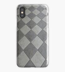 Novelty Black and White Tile iPhone Case/Skin