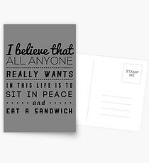 all we want Postcards