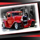 red car poster by picketty