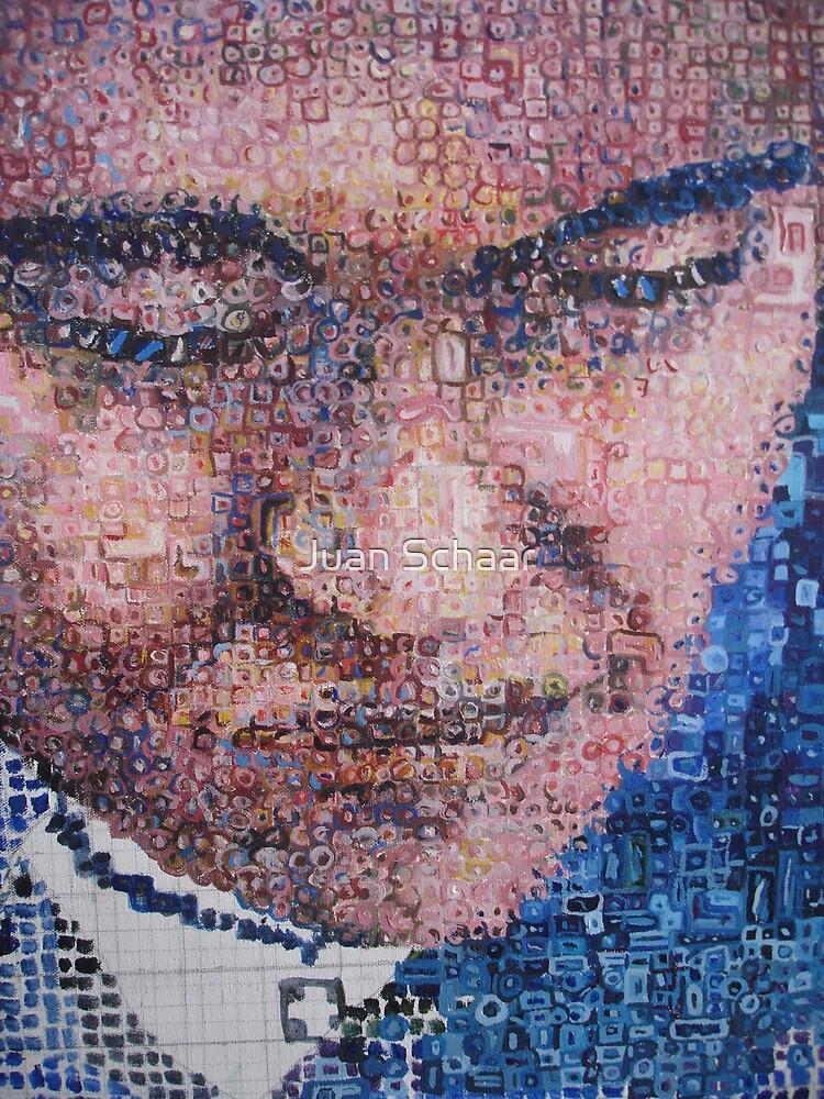 3600 little squares by Juan Schaar