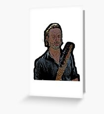 rick grimes phone case Greeting Card