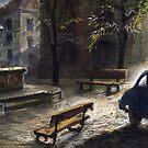 Prague Old Fountain by Yuriy Shevchuk