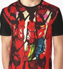 Masai silhouette Graphic T-Shirt