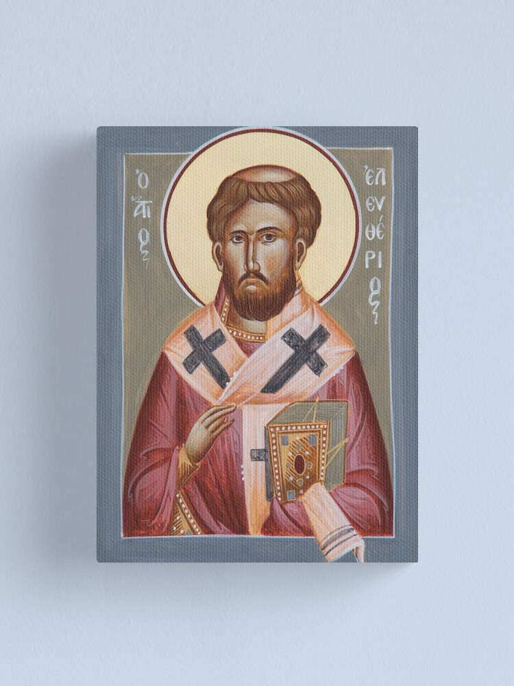 Alternate view of St Elevtherios Canvas Print