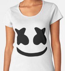 Marshmello Face Women's Premium T-Shirt