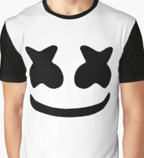Marshmello Face Graphic T-Shirt