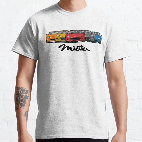 MX5 Miata Générations T-shirt classique