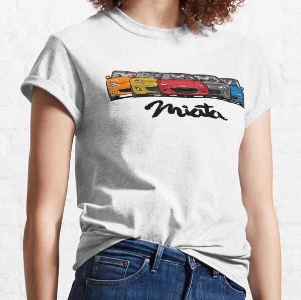 MX5 Miata Generations Classic T-Shirt