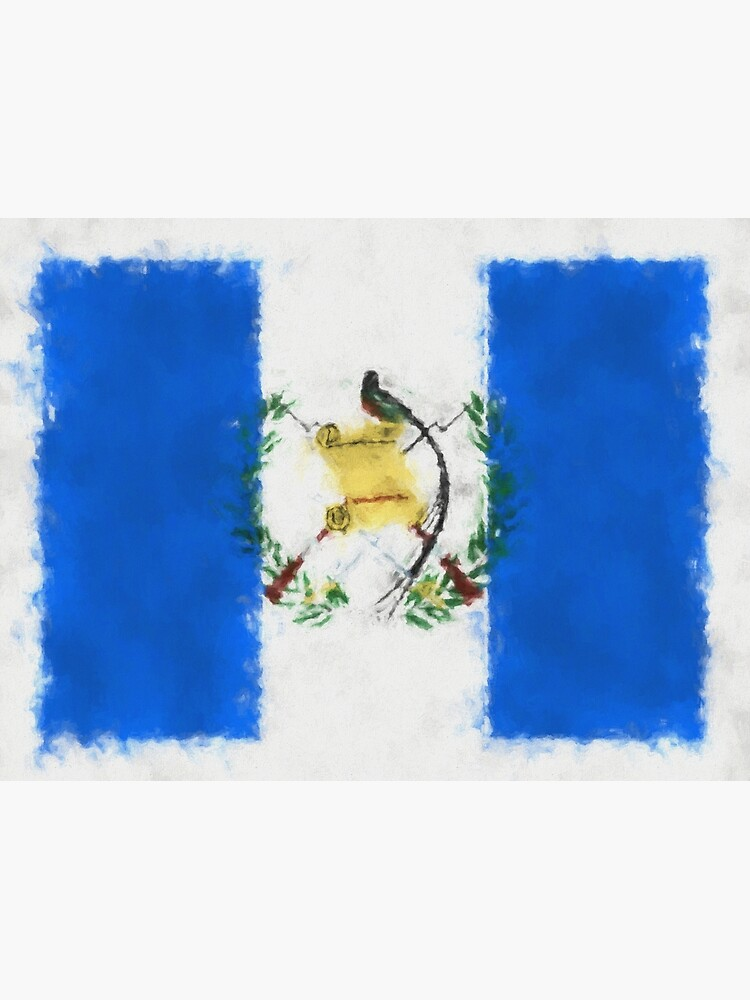 Guatemala Flag Reworked No. 66, Series 5 by 8th-and-f