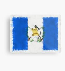 Guatemala Flag Reworked No. 66, Series 5 Metalldruck