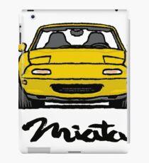 MX5 Miata NA Yellow iPad Case/Skin