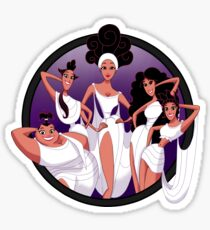ZOOM THE 5 MUSES Sticker