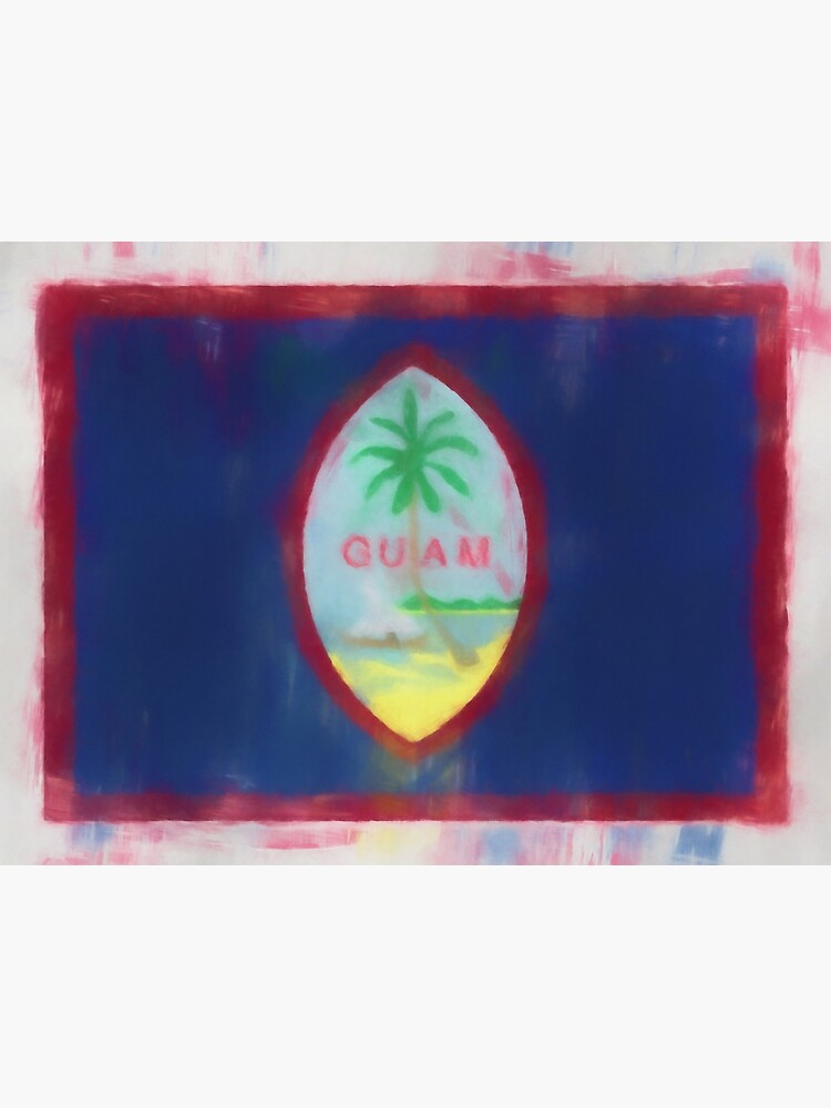 Guam Flag Reworked No. 66, Series 1 by 8th-and-f