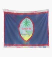 Guam Flag Reworked No. 66, Series 1 Wandbehang