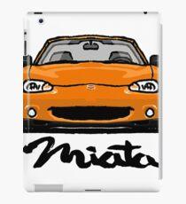 MX5 Miata NB Orange iPad Case/Skin