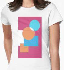 Making Shapes! Women's Fitted T-Shirt