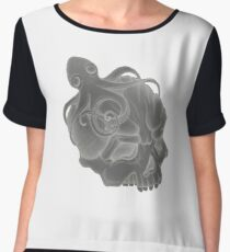 Octopus Skull Women's Chiffon Top