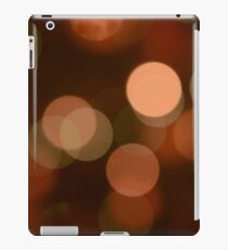 Bubbles of Light  Brown iPad Case/Skin