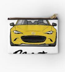 MX5 Miata ND Yellow Studio Pouch