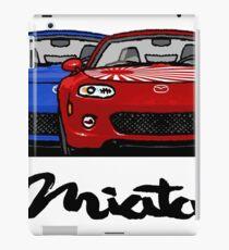 MX5 Miata NC Blue-Red iPad Case/Skin