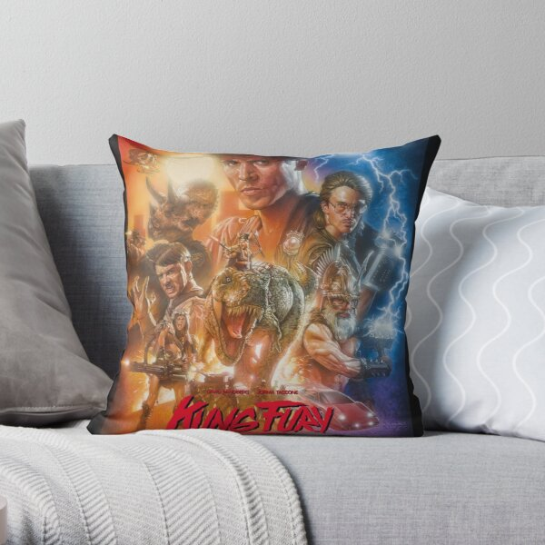 Kung Fury Throw Pillow