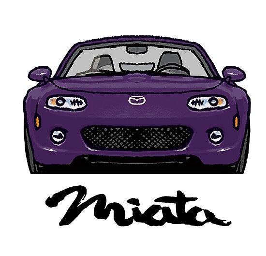 MX5 Miata NC Purple by Woreth