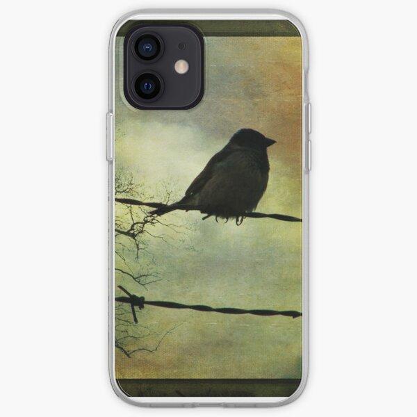 Bird on a wire iPhone Soft Case