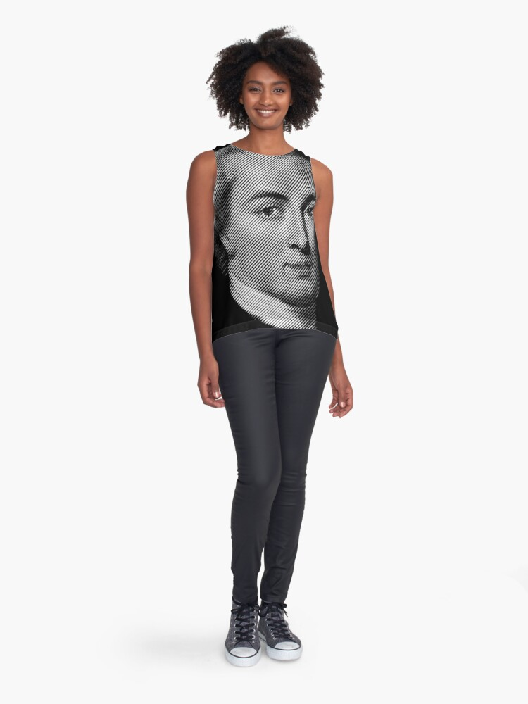 Alternate view of Immanuel Kant Sleeveless Top
