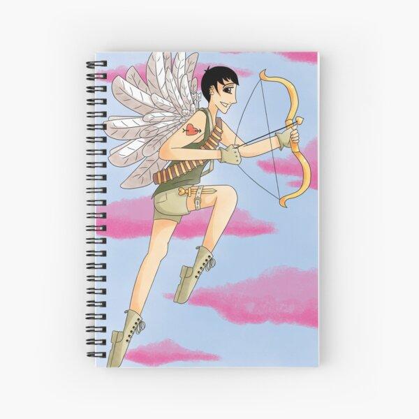 Soldier of Love Spiral Notebook