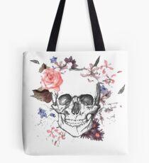 Tete fleuri Tote Bag