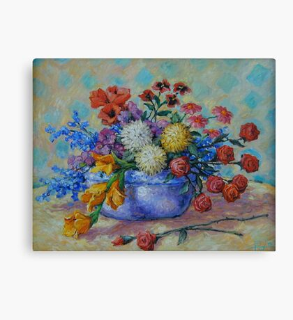 Flowers #2 Canvas Print