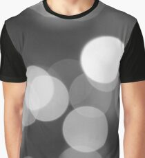 Bubbles of Light  Grey Graphic T-Shirt