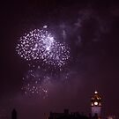 Edinburgh Castle fireworks by Jasmin Bauer