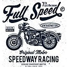 MOTORCYCLE FULL SPEED - SPEEDWAY RACER by StOmPbOX