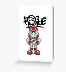 "Robobot ""Off to Mars"" / Three / Rogue Robot Greeting Card"