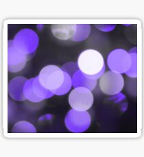 Bubbles of Light  Indigo Sticker